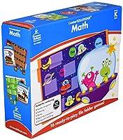 Carson-Dellosa 140305 CenterSOLUTIONS Math File Folder Games, Kindergarten