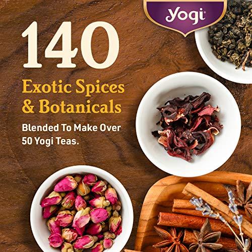 Yogi Kava Tea Nutrition Label