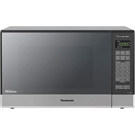 Panasonic Microwave Oven NN-SN686S Stainless Steel Countertop/Built-In with Inverter Technology and Genius Sensor, 1.2 Cubic Foot, 1200W