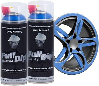 Autofullcar Full Dip Pack 2 Spray Schwarz Matt Fulldip Tiendafulldip Com Mattschwarz Baumarkt