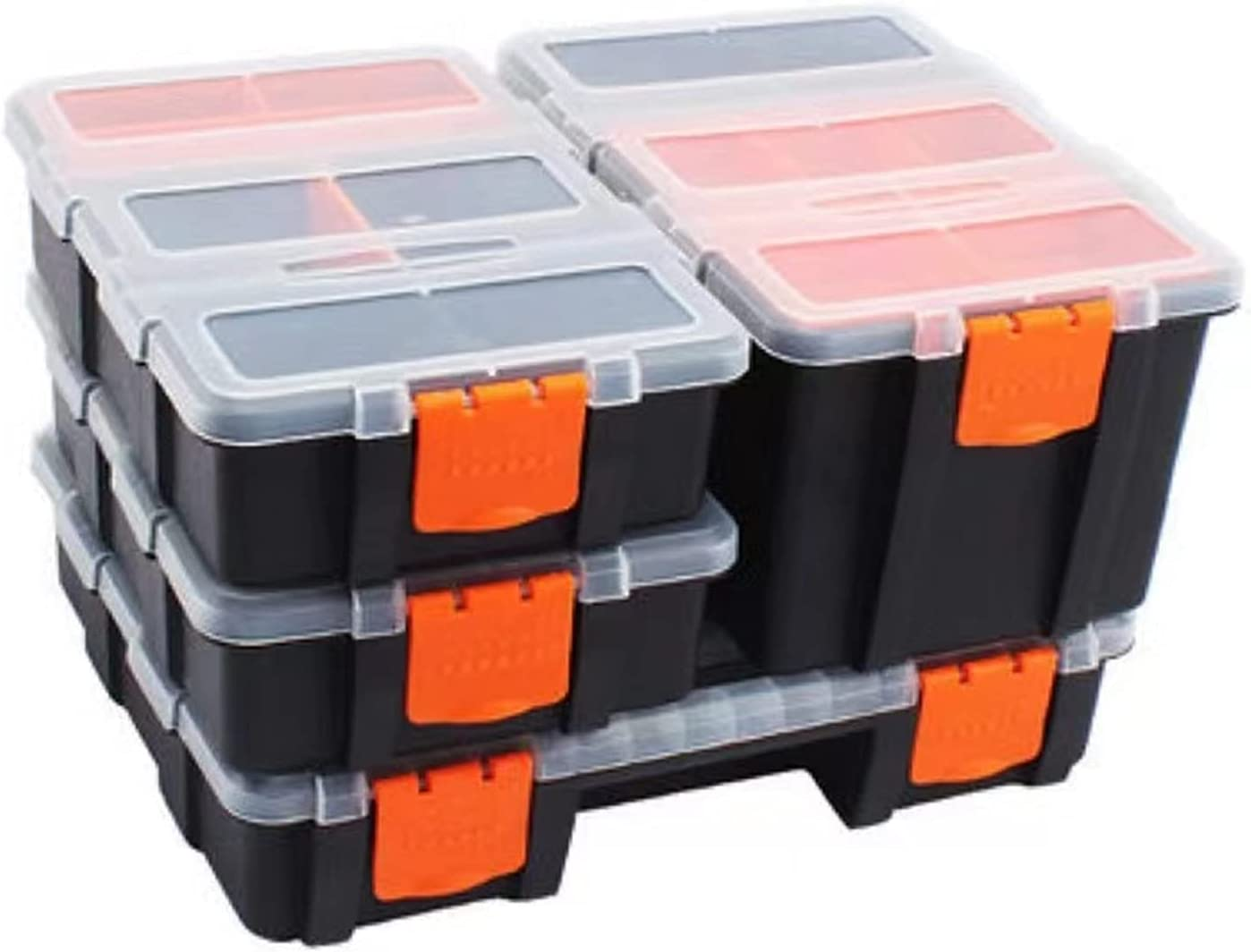 Tool Box 4 Pcs Ranking TOP12 Set Plastic T Case Combined Max 87% OFF Storage with