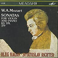 W. A. Mozart - Sonatas For Violin and Piano KV 378, 379 (1990-05-03)