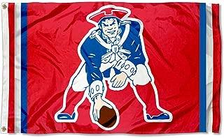 WinCraft New England Patriots Pat Patriot Vintage Flag