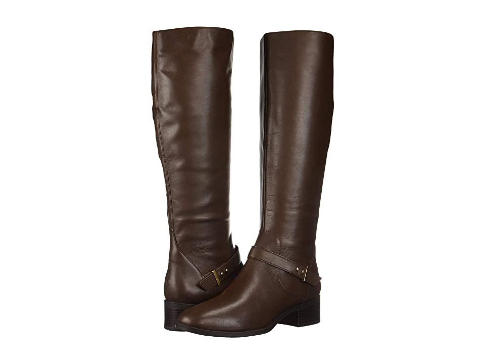 Bandolino Bloema Wide Calf Boot (Hickory Leather) Women