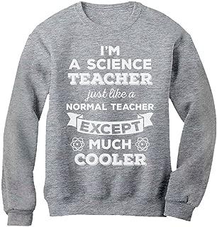 Tstars Funny Science Gift for Teacher Chemistry Sweatshirt