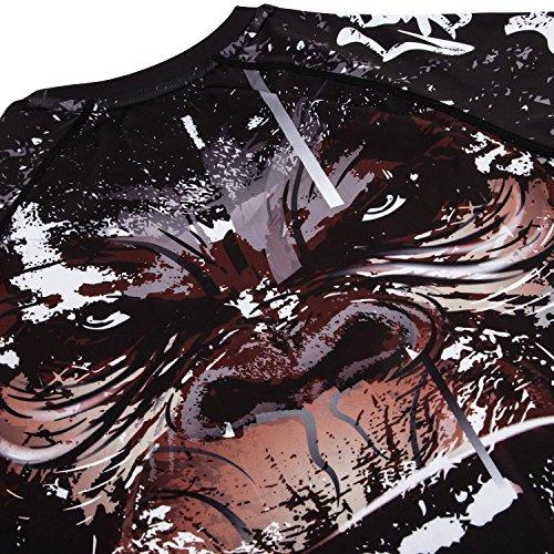 Venum Gorilla Rashguard - Long Sleeves - Black - Small