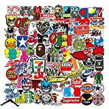 Cool Brand Stickers 100 Pack Decals Laptop Computer Skateboard Water Bottles Car Teens Sticker
