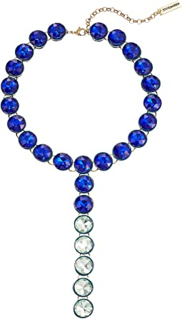 Rhinestone Y Style Necklace