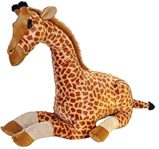 Wild Republic Jumbo Giraffe Plush, Giant Stuffed Animal, Plush Toy, Gifts for Kids, 30 Inches