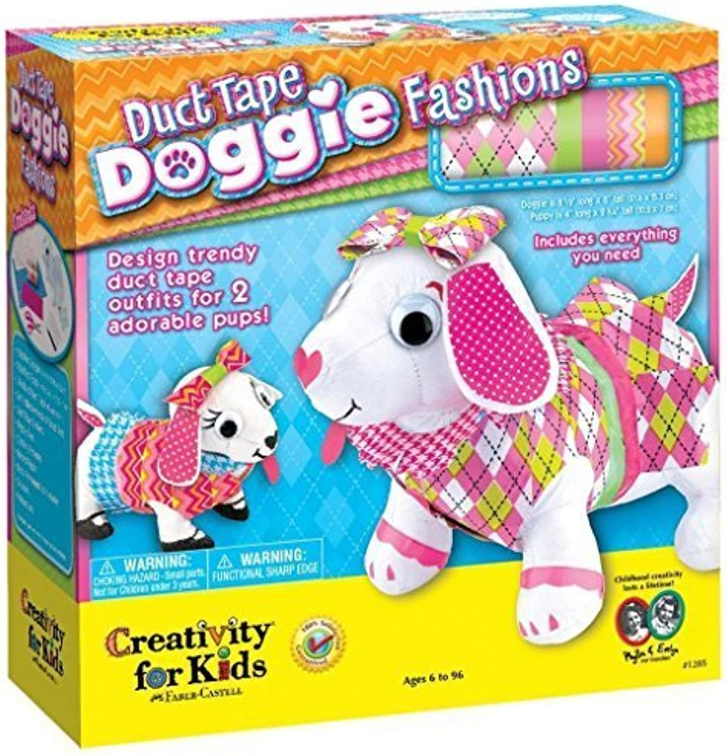 Duct Tape Doggie Fashions Kit by Creativity for Kids