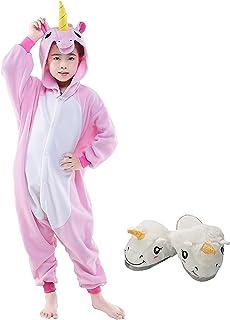 3214cb52c9557 Animal Pyjama Kiguruma Combinaison Vêtement de Nuit Cosplay Costume  Déguisement pour Enfant Unisex