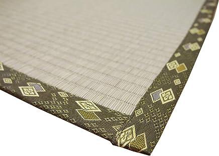 """萩原 灯心草 鞋垫""""编织 日本制造"""" """"琥珀"""" 自然色 36間1畳(約91X182cm) 158002800"""