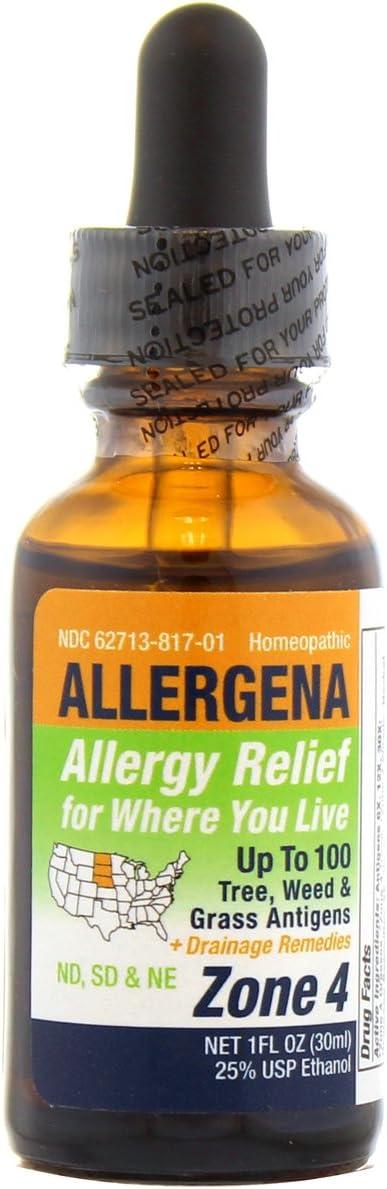 Allergena Sale SALE% OFF - Allergy Relief Drops 4-1 Seasonal Wrap Introduction Zone oz.