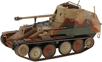 SM SunniMix 1/32 Scale Tank Models World War II German Marder III Tanks Military Vehicle Collectible Toys