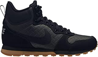 Official Nike MD Runner 2 Mid Top Trainers Womens Black/Gum Athleisure Sneakers Shoes