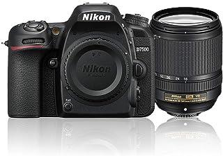 Nikon D7500 + AF-S DX 18-140mm f/3.5-5.6G ED VR Single Lens Kit, Black