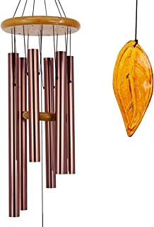 Wind Chimes Outdoor Large Deep Tone|36 Inch Memorial Wind Chimes with Metal Tubes Tuned to Amazing Grace Produce Soothing Music in Memory Favorite People|Perfect Memorial Gift for Your Garden Décor