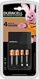 Duracell 4 Hours Battery Charger, 1 Count