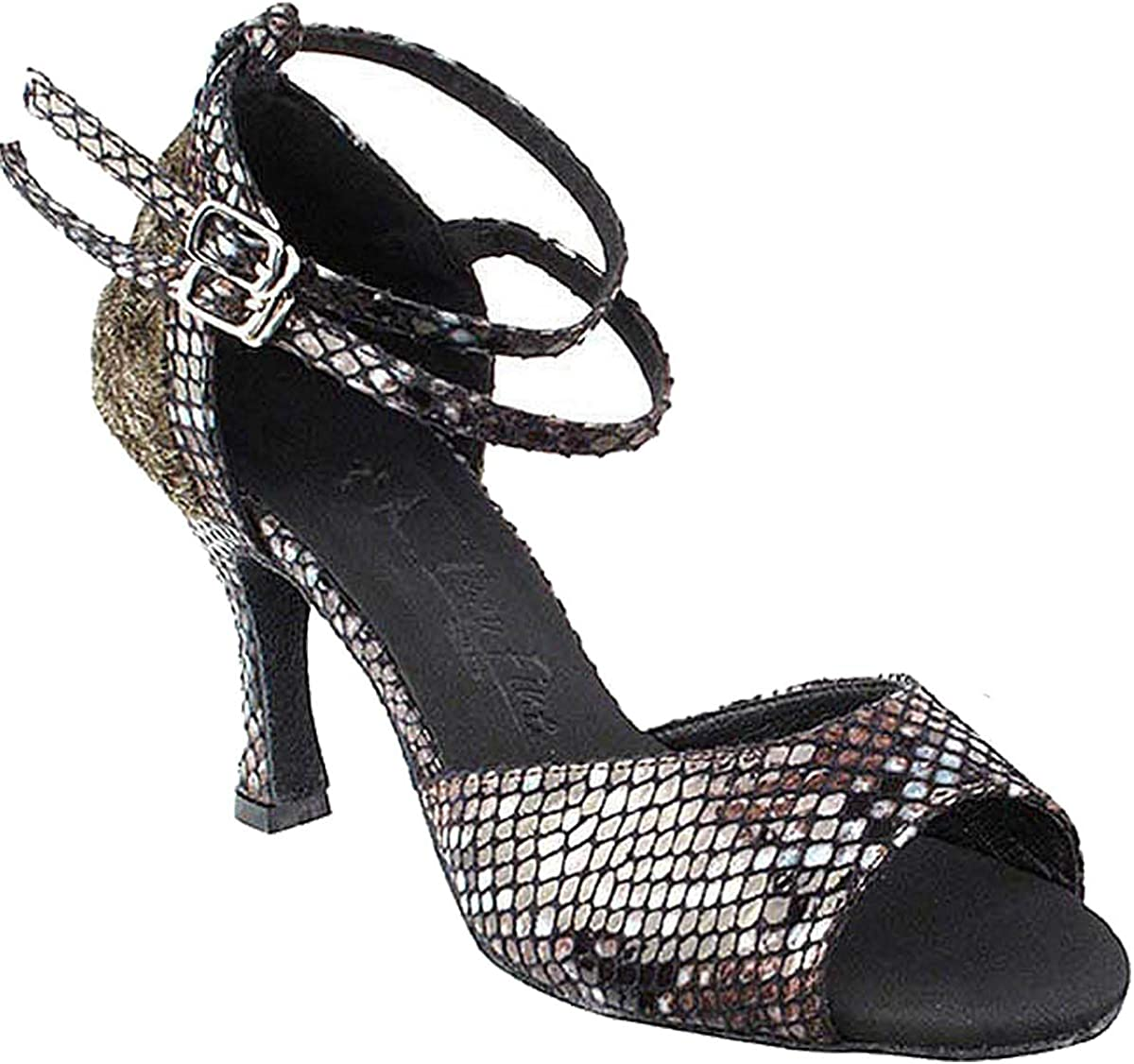 Women's Ballroom Dance Shoes Tango Wedding Salsa Shoes Sera7008EB Comfortable Very Fine 2.5