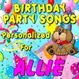 Happy Birthday to Allie (Alley, Ally, Aly)