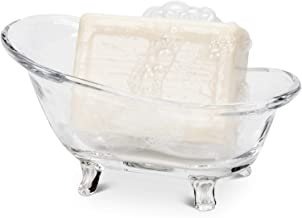 Abbott Collection Glass Bathtub Soap Dish