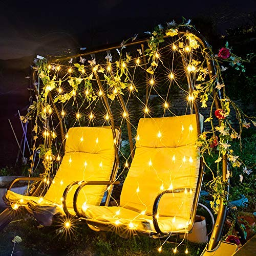 Net Light Fairy Tale Lamp, 1.5 Meters * 1.5 Meters 220V, Energy Saving, Waterproof, Used To Decorate Indoor Walls, Outdoor Hanging Ornaments