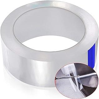cococity Dichtungsband Selbstklebend Transparent Fugendichtungsband Wasserdicht PET Acrylband Anti-Mehltau Klebeband Dichtstoff für Badzimmer Küchen Fenster und Tür 5MX30MM