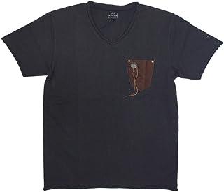 (ショット) Schott 3183002 ネイティブ レザーポケット Tシャツ