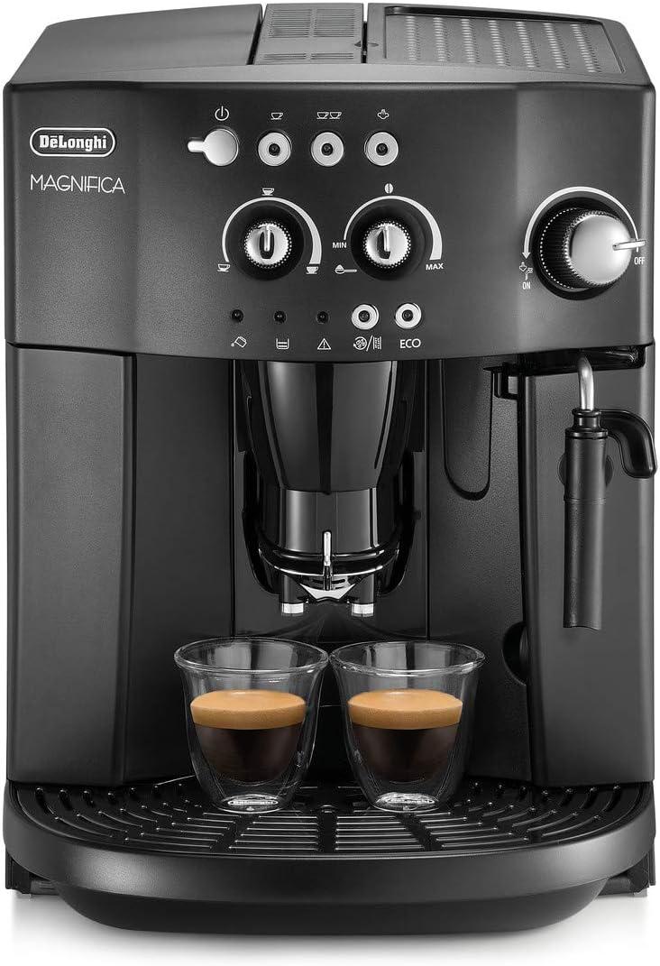DeLonghi ESAM 4000.B - Cafetera (Independiente, Totalmente automática, Espresso machine, Granos de café, De café molido, Negro, 50/60 Hz)