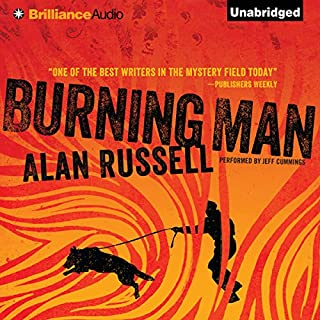 Burning Man audiobook cover art
