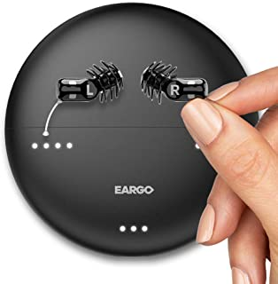 EARGO Neo HiFi - Newest Model Hearing Aid - Virtually Invisible, Rechargeable, Professional-Grade Hearing Aid - Delivered to Your Doorstep - No in-Person Visit Needed