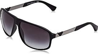 EA4029 504271 Matte Black EA4029 Square Sunglasses Lens Category
