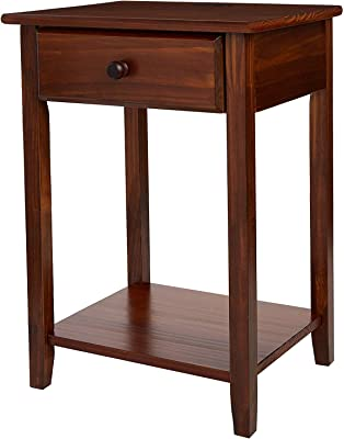 Amazon Com Stony Edge Night Stand End Accent Table With
