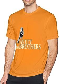 The Av-ETT Brothers Fun Cotton Round Neck Short Sleeve T-Shirt Men