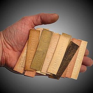 MIX di 30 Carte di incenso Dimenticato 8 cm x 2,1 cm da bruciare dal Profumo Armeno GRENIER IMPERIAL (consegna contro firm...