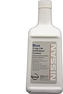 Genuine Nissan Fluid 999MP-L255QTP Blue Long Life Antifreeze/Coolant Concentrate - 1 Quart