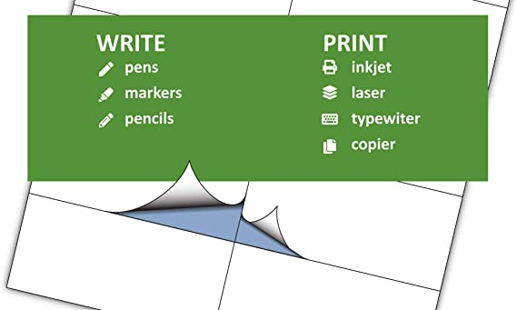 Rillprint Vielzweck Etiketten Selbstklebend 100 Stück 210 X 297 Mm 1 Klebeetiketten Pro A4 Blatt Bedruckbar Abziehbar Universal Adressaufkleber 100 Blatt Weiß Bürobedarf Schreibwaren