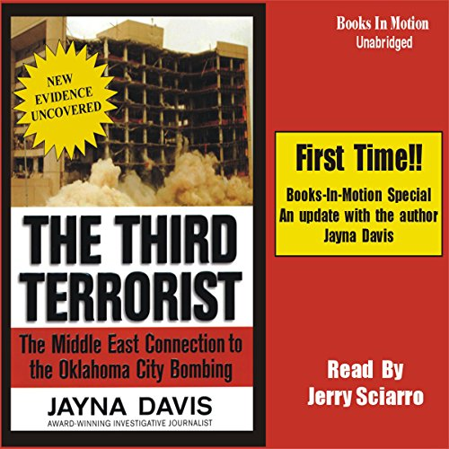 The Third Terrorist audiobook cover art