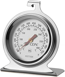 Simply Silver - Oven Thermometer - CDN ProAccurate High Heat Oven Thermometer - Model: POT750X