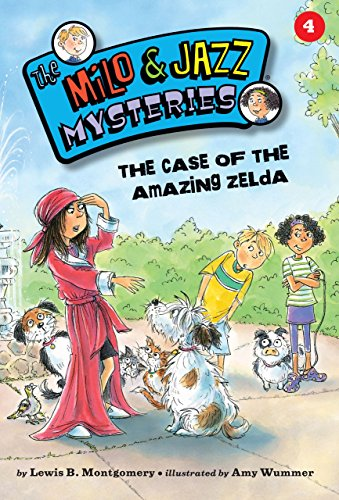 The Case of the Amazing Zelda (Book 4) (The Milo & Jazz Mysteries ®) (English Edition)