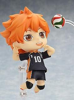 QTRT Haikyuu !!Hinata Shoyo Q Versione Toy Intercambiabile Viso Mobile Figura PVC Anime Gioco del Personaggio dei Cartoni ...