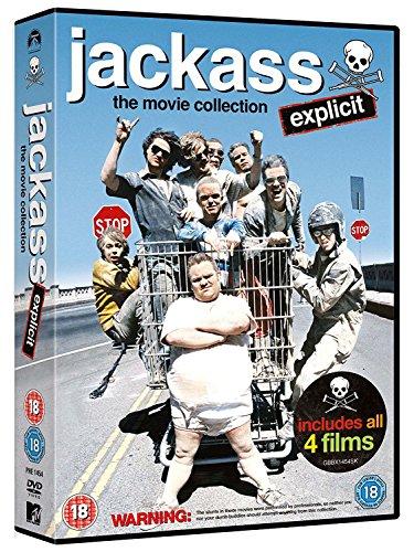 Jackass 1 To 3 Movie Boxset (Incl. Jackass 2.5) [DVD]