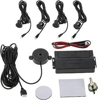 KKmoon Asistencia de Aparcamiento 4 Sensor Radar Kit Reverse