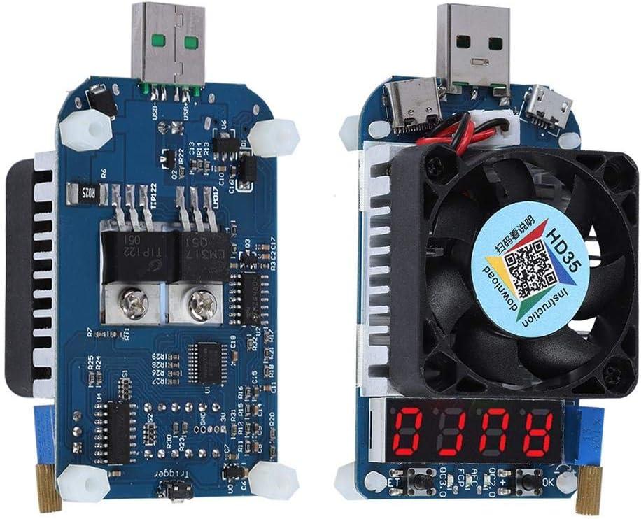 Eboxer USB Tester Multimeter 5V 9V 20V Los Angeles Mall 12V US Voltage overseas