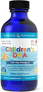 Nordic Naturals - Children's DHA, Healthy Cognitive Development and Immune Function, 4 Fl Oz