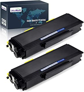 OfficeWorld Compatible Toner Cartridge Replacement for Brother TN650 TN-650 TN580 TN-620 for Brother HL-5370DW HL-5250DN HL-5340D HL-5240 MFC-8480DN MFC-8860DN MFC-8890DW DCP-8080DN (Black, 2-Pack)