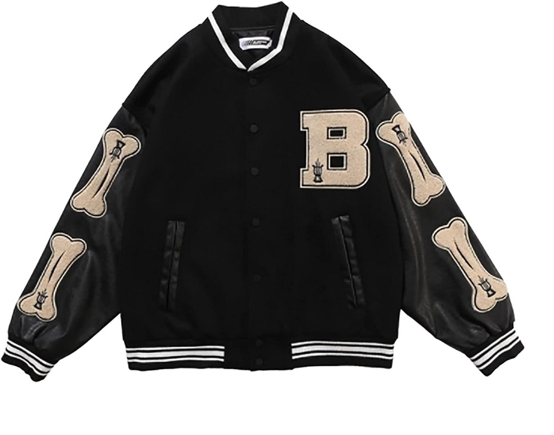 HSOSK Baseball Jacket San Francisco Mall Men Coat College Letter Jac Varsity Ranking TOP14