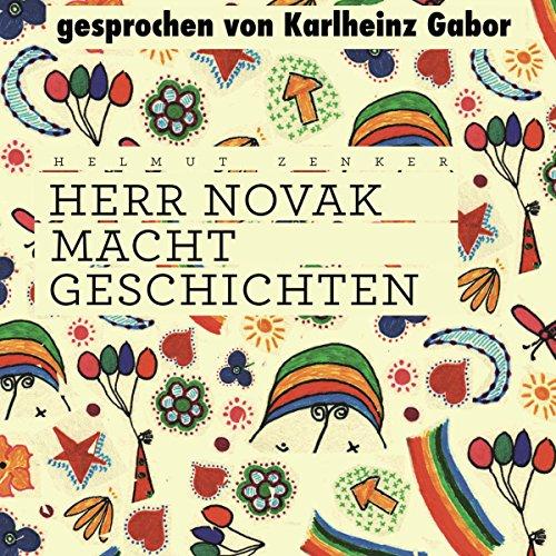 Herr Novak macht Geschichten audiobook cover art
