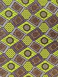 Baumwollstoff Afrikanisch Mode Design und Farben - 6 Yards