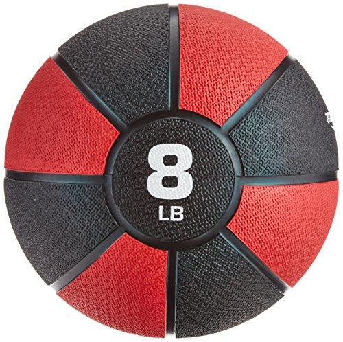 AmazonBasics Medicine Ball, 3.63kg (Red)